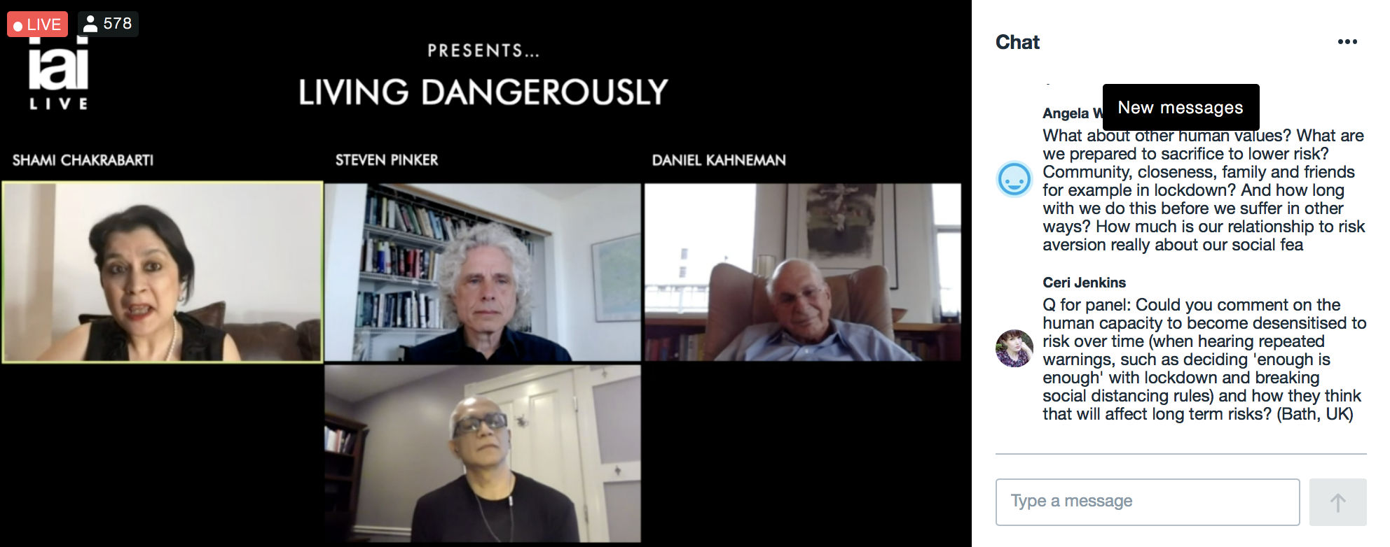 20 05 23.LIVING DANGEROUSLY.578views chat