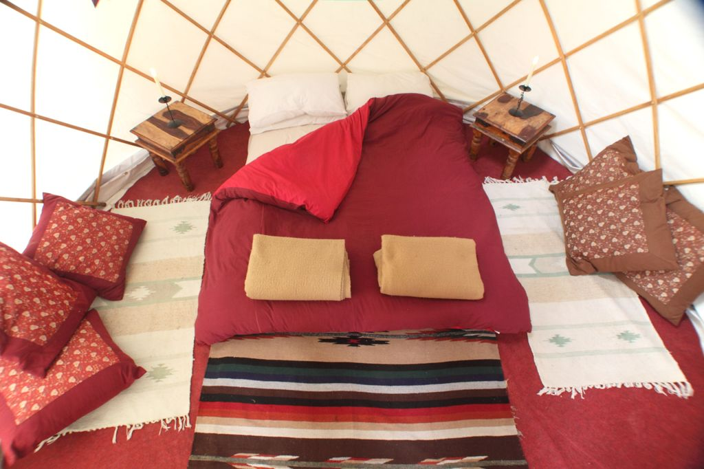 HowTheLightGetsIn Luxury Yurt Popup